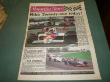 MOTORING NEWS 1984 May 23 Portugal GP F1, F3, F2, Paris-Dakar Porsche, Forth Stages
